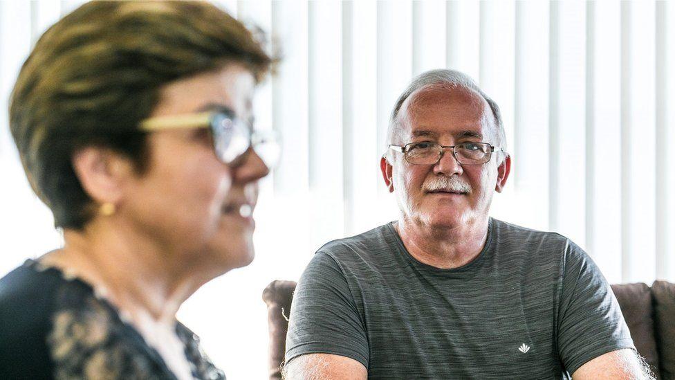 Antônio Carlos de Melo Cunha e sua mulher, Mara Cristina