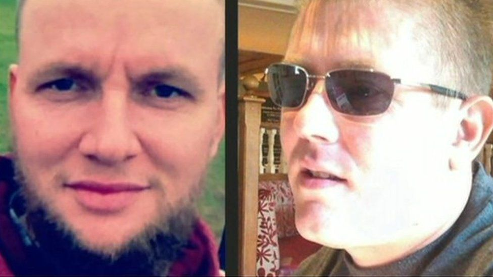 John Morland and Kris Jarvis were killed on 13 February 2014