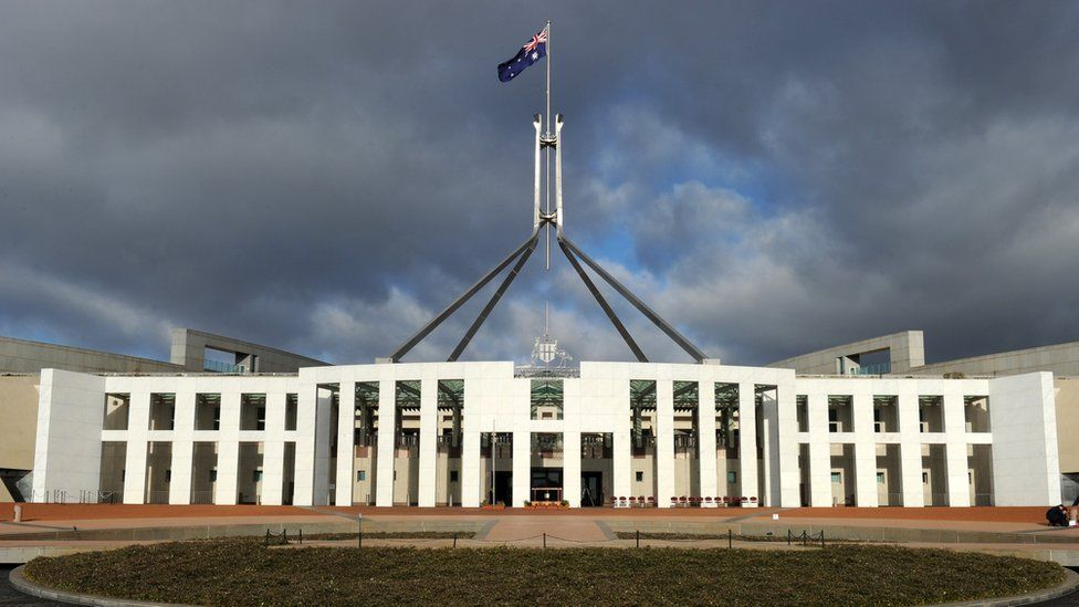 Australia's Parliament House in Canberra