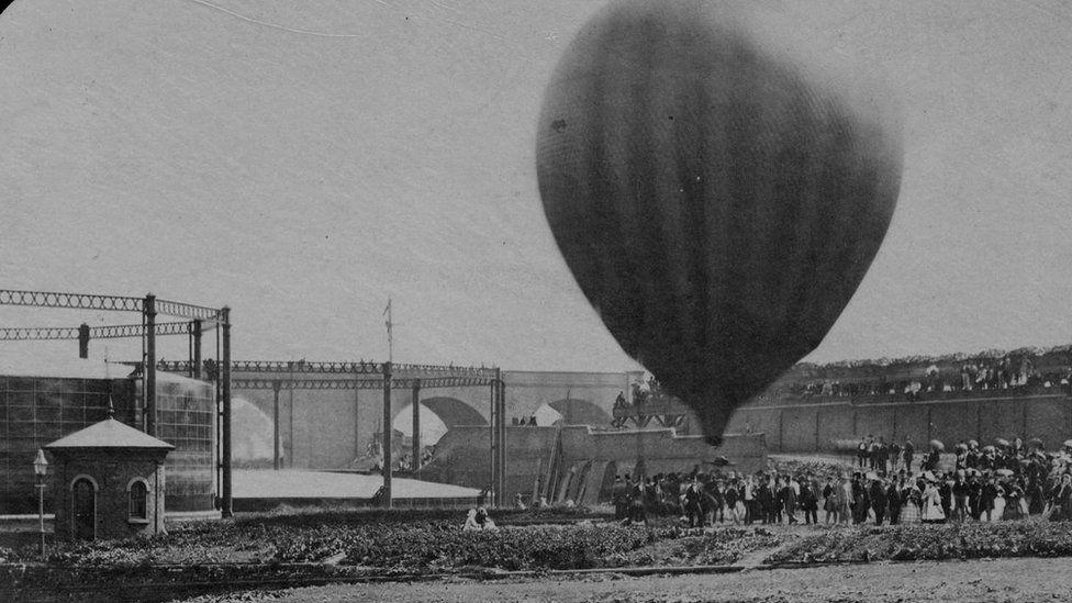 The balloon launch