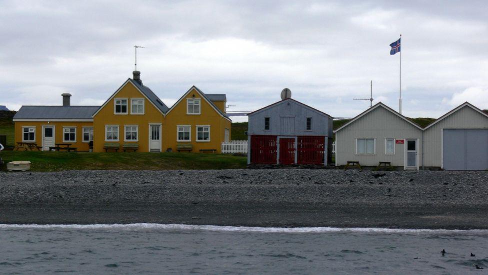 Vigur harbour, Iceland