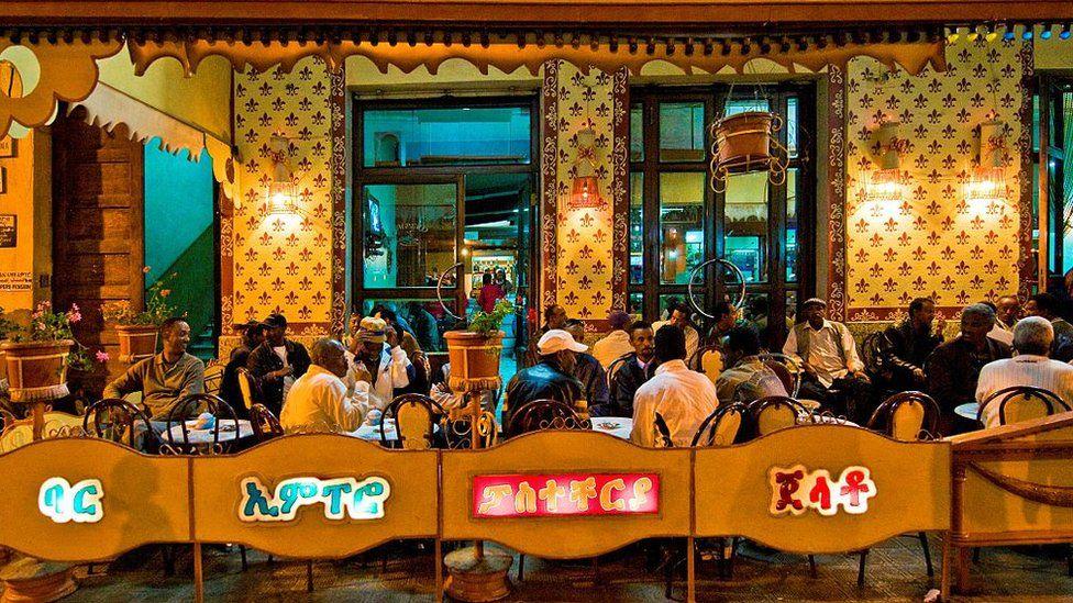 Eritrea. Asmara. The Impero Bar.