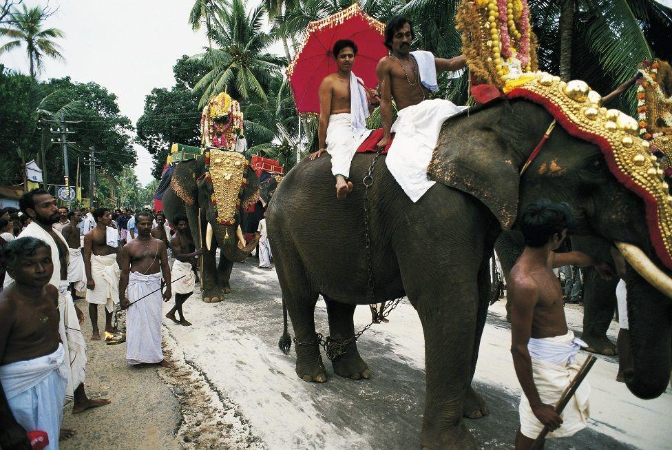 केरल का श्रीपद्मनाभस्वामी मंदिर