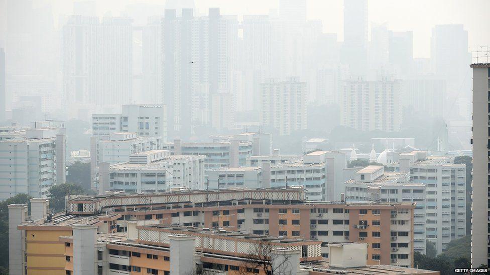 Haze in Singapore (15 Sept 2015)