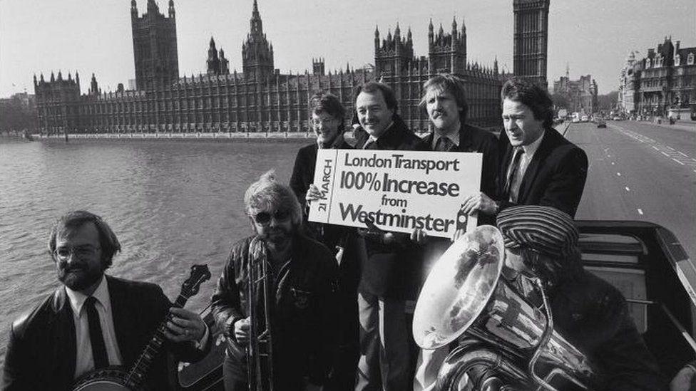 Ken Livingstone highlights the Fares Fair policy , 1982