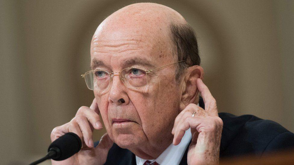 US Commerce Secretary Wilbur Ross
