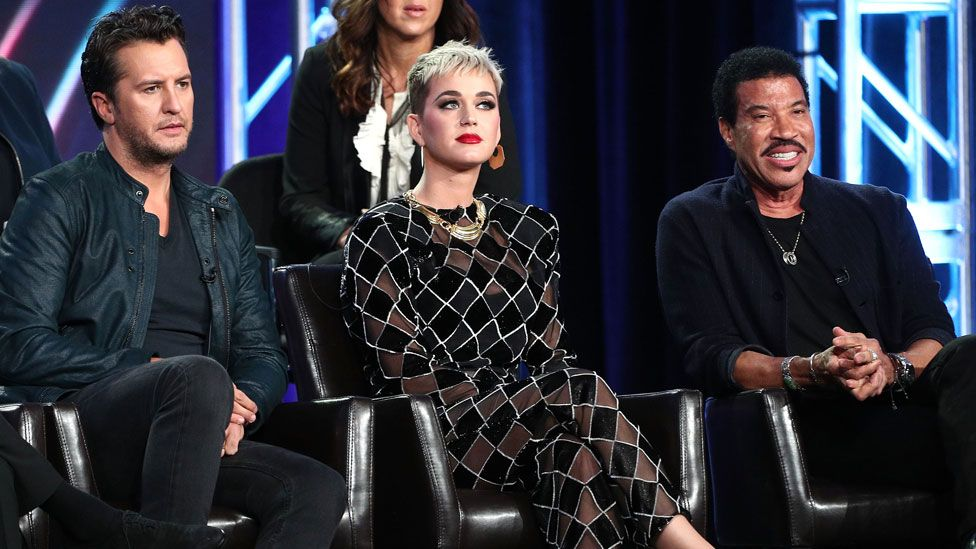 Luke Bryan, Katy Perry and Lionel Richie