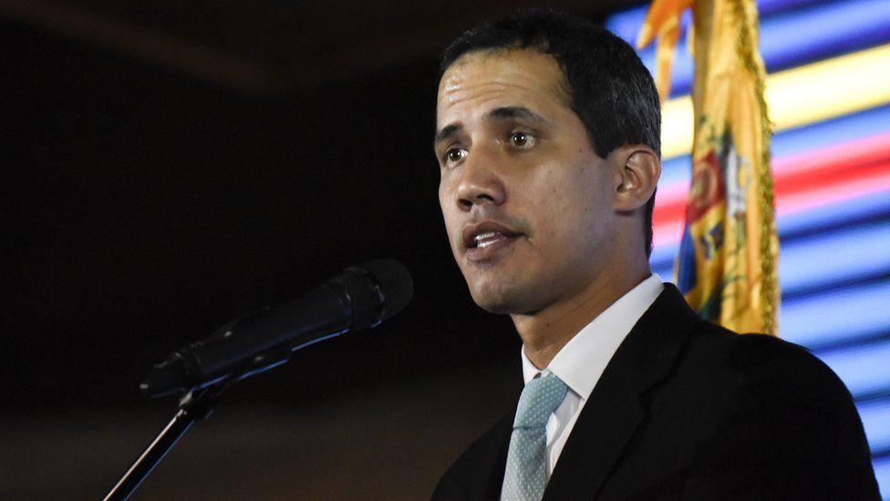 Opposition leader and self-declared interim president of Venezuela Juan Guaidó, 31 January 2019
