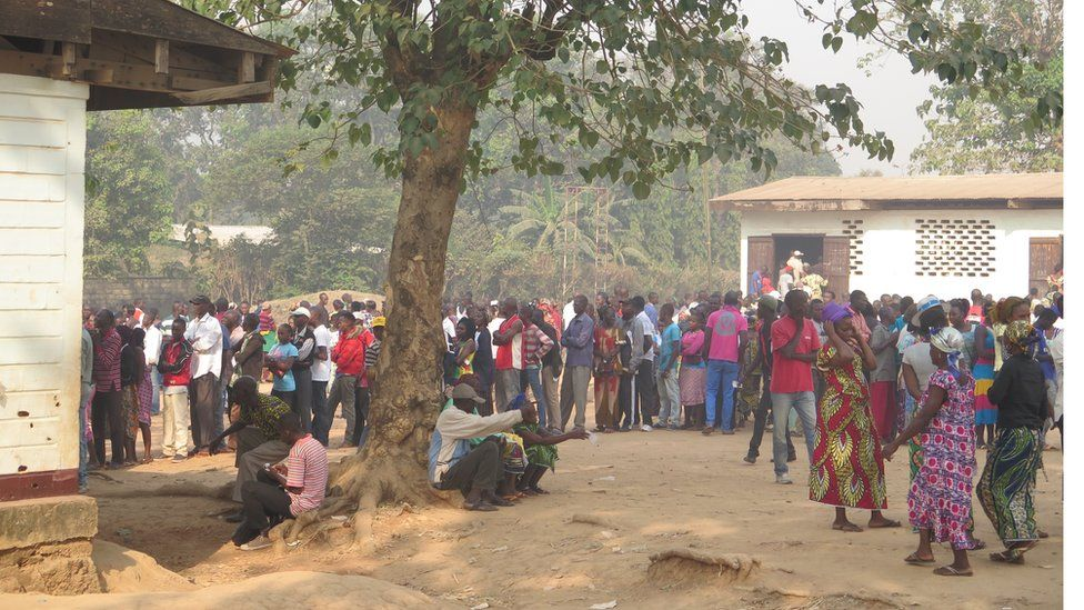Queues in Bangui