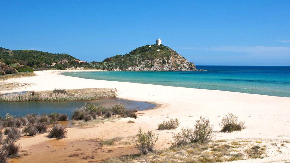 Sa Colonia beach, Chia, Domus de Maria, Sardinia
