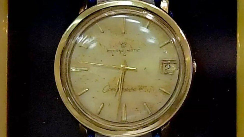 Eli Cohen's watch