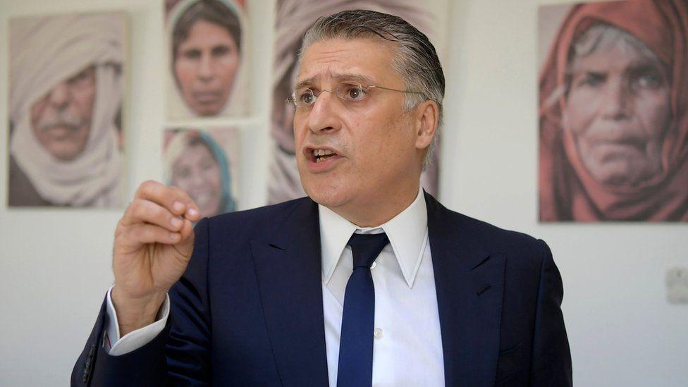 Tunisian presidential candidate Nabil Karoui