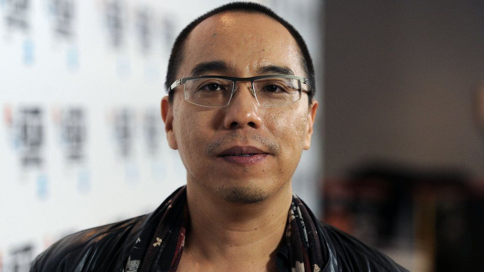 Apichatpong Weerasethakul attends the Cemetery of Splendour screening during the BFI London Film Festival in London, England