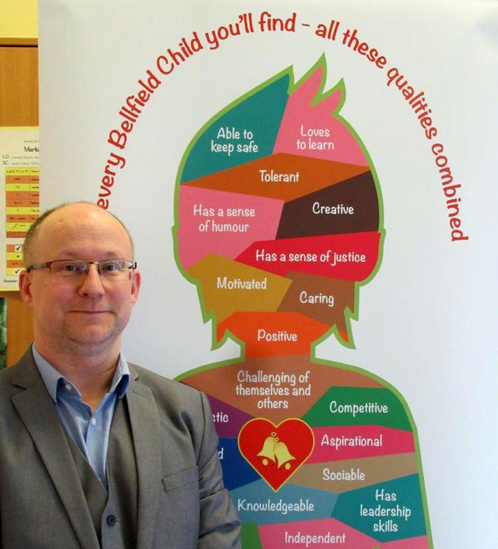 Head teacher Nigel Attwood