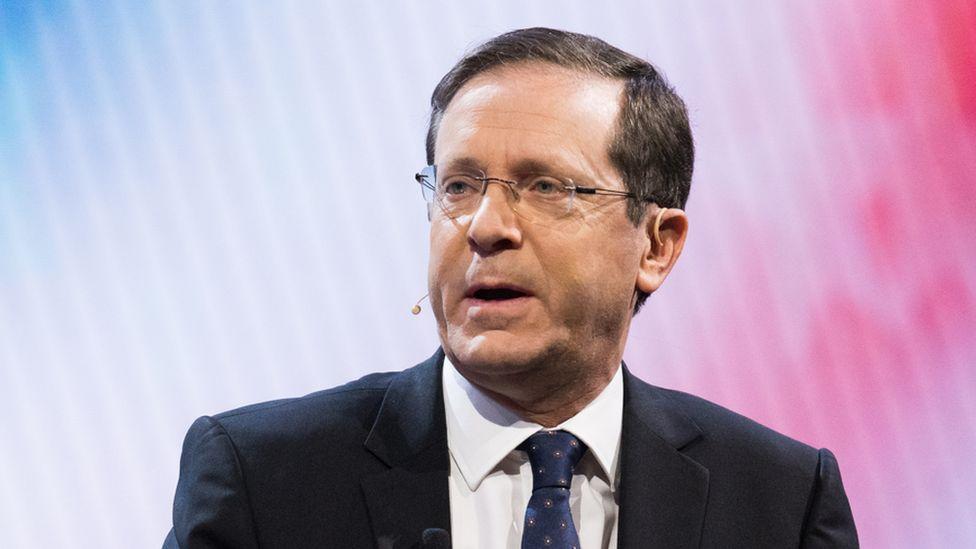 Israeli President Isaac Herzog