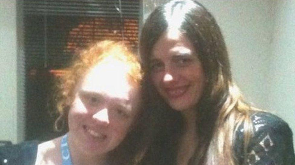 Lauren Thornton and Kelly Webster