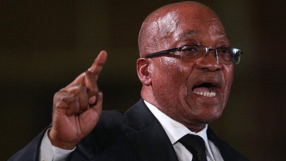 Jacob Zuma in Pretoria on December 14 2013