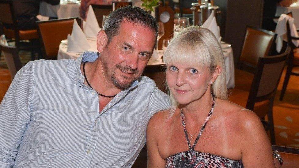 John Slater and wife Lorraine
