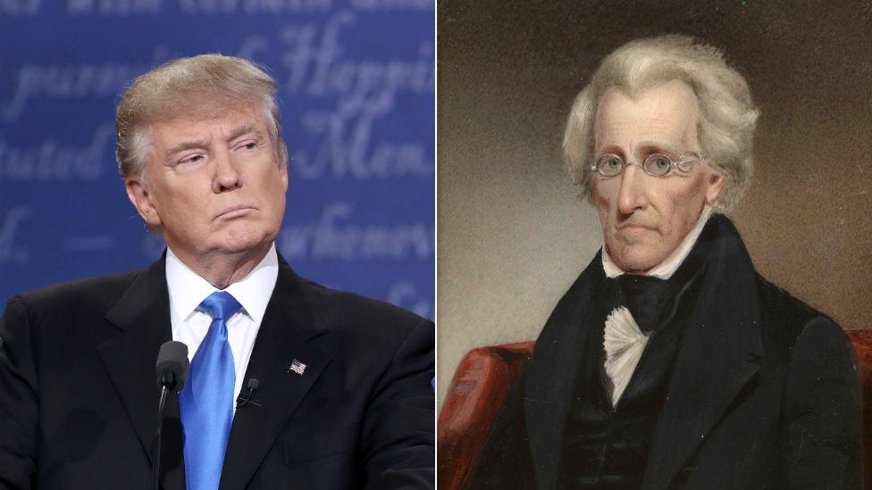 Donald Trump Andrew Jackson