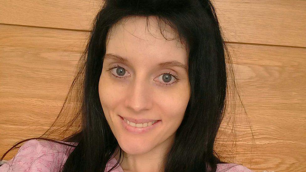 Rebecca Bostock at home