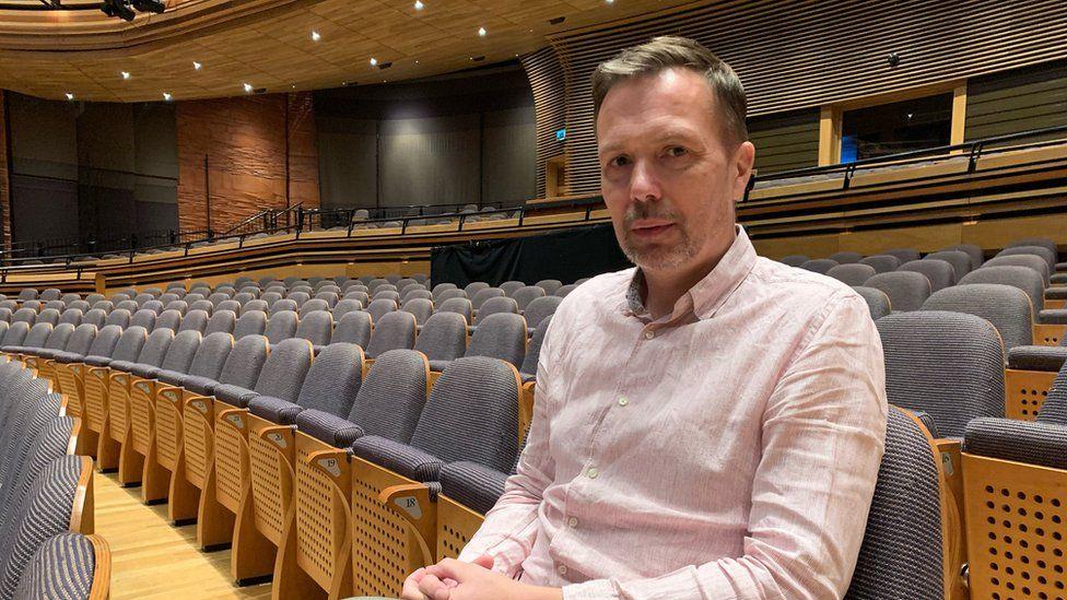 Graeme Farrow, artistic director of Wales Millennium Centre