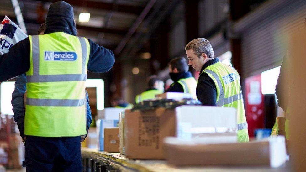 Menzies Distribution staff