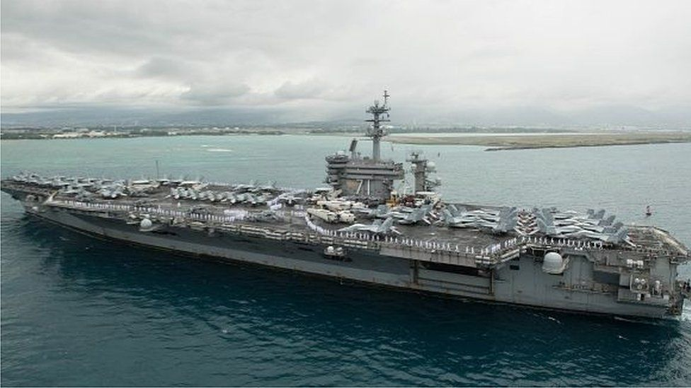 USS Theodore Roosevelt (file photo)