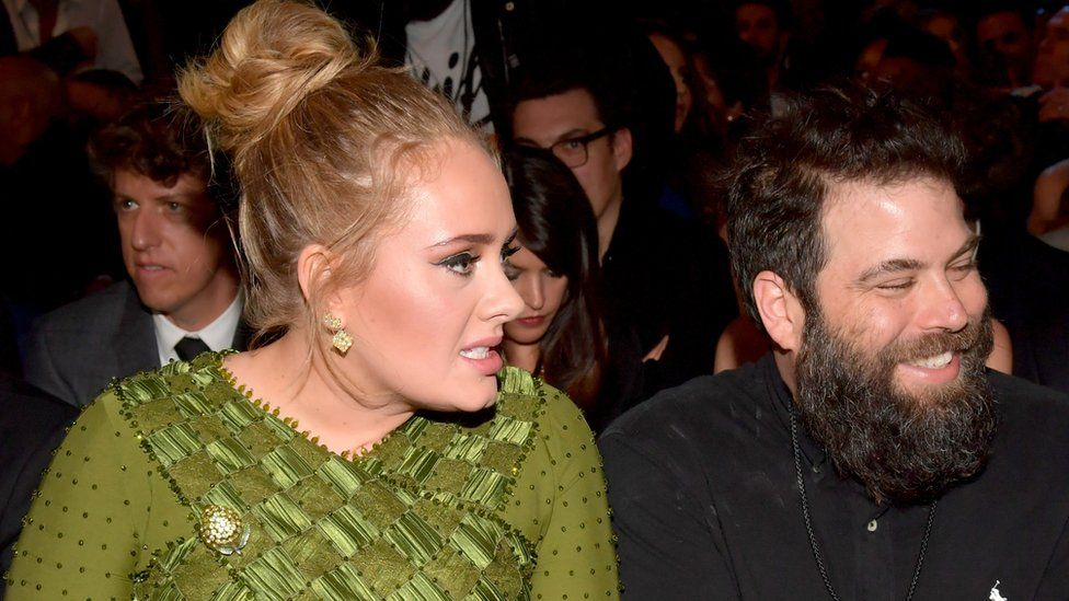 Adele finalises divorce with joint custody of son - BBC News