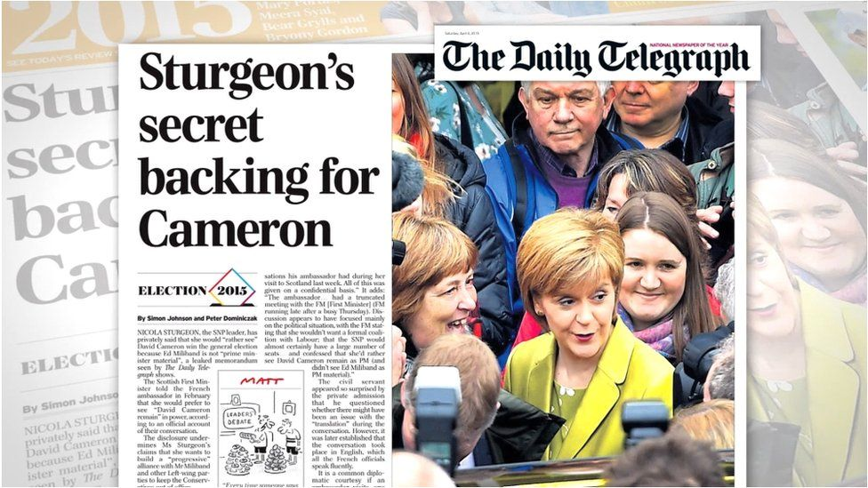 The case centres around this Daily Telegraph article from April