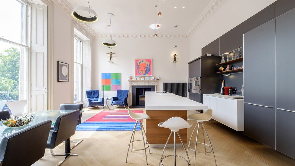"""Moray Place, Edinburgh - The challenge was to create """"one of the best apartments in Edinburgh"""", respecting the original building"""