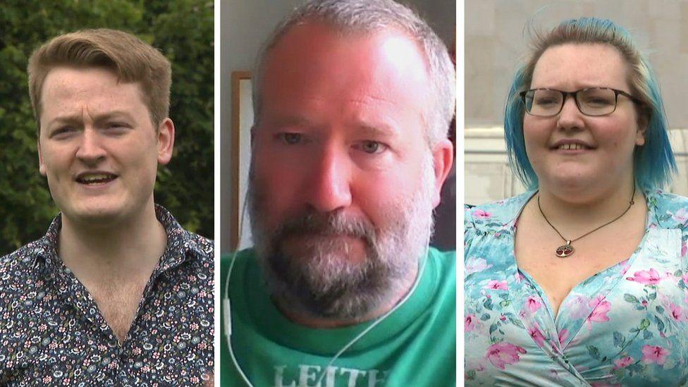 James Putowski, Chas Booth, Rosie Smith