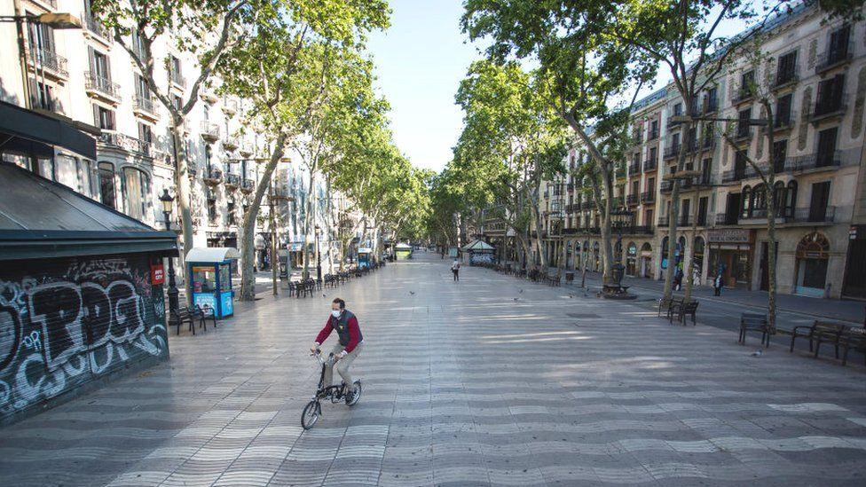 Barcelona's Las Ramblas