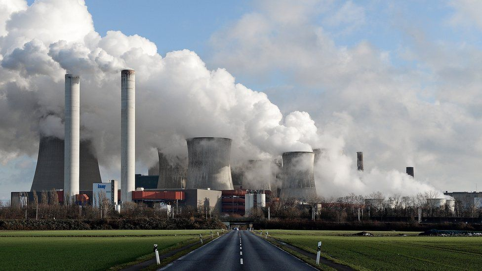 Coal fired power plant in Germany