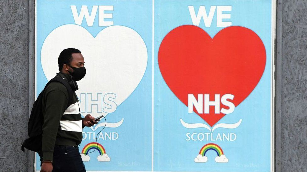 we love nhs sign