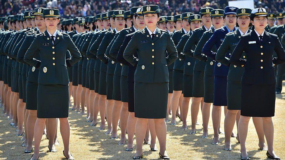 South Korean military parade. File image