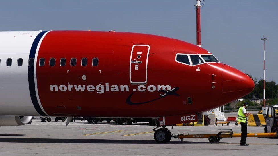 Norwegian Air has 18 Boeing 737 Max 8 aircraft
