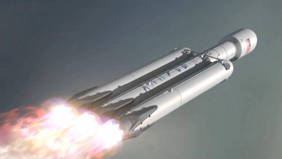 Artwork: Falcon Heavy