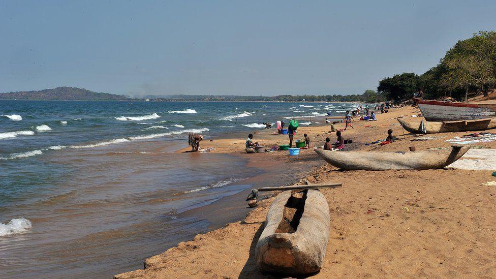 Lake Malawi shore