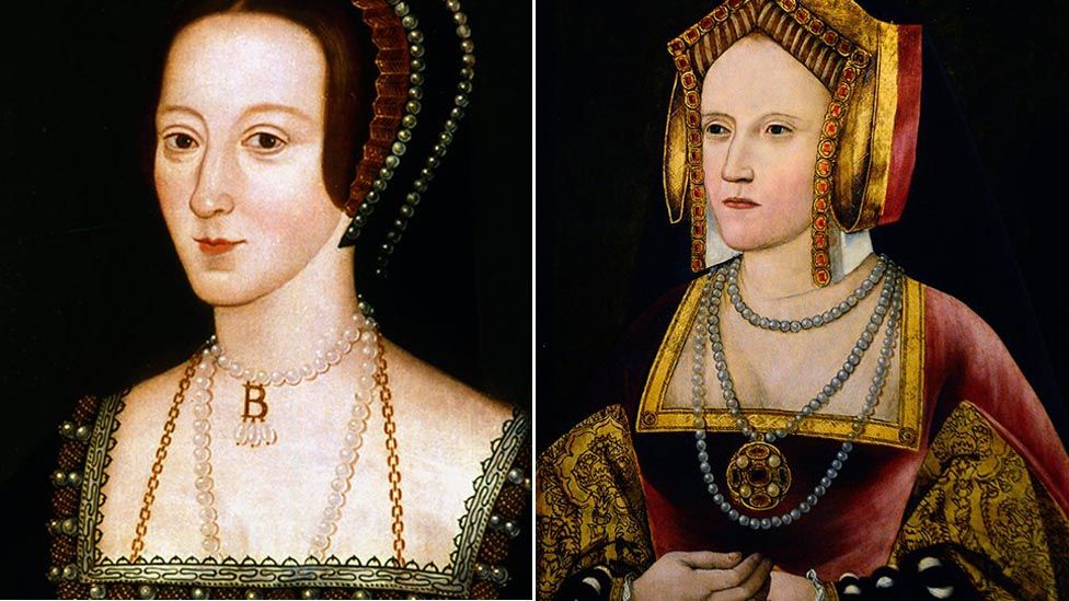 Anne Boleyn was executed under Henry's orders while he divorced Catherine of Aragon