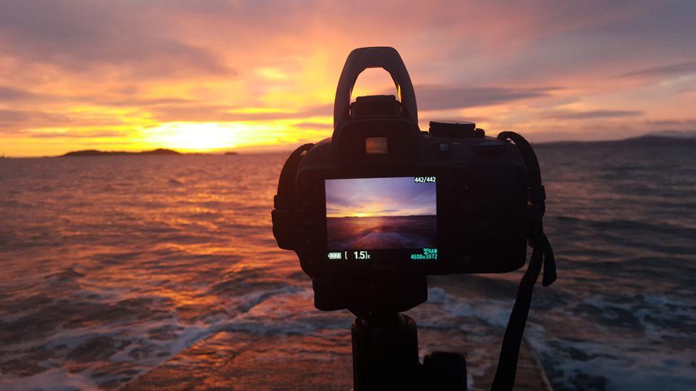 Sunrise over Dalgety Bay