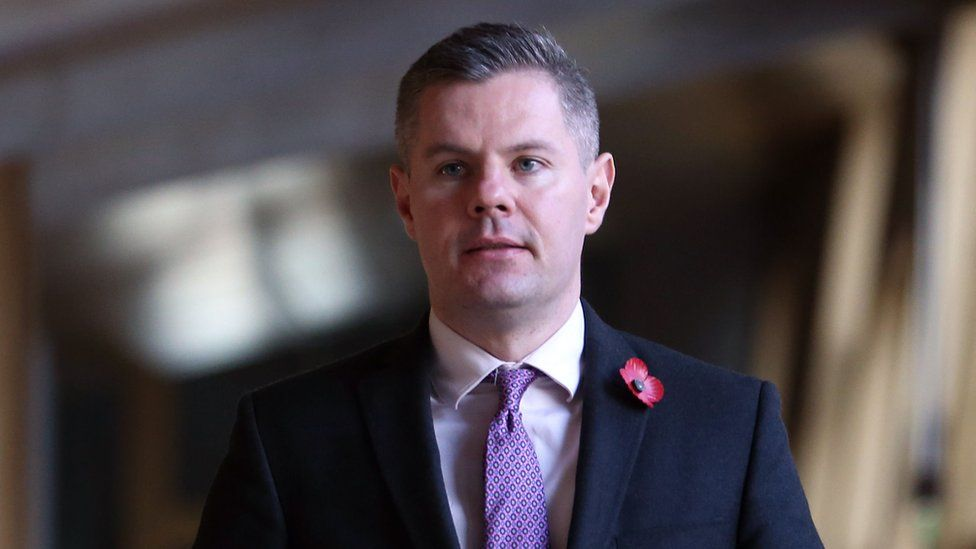 Scotland's finance secretary Derek Mackay