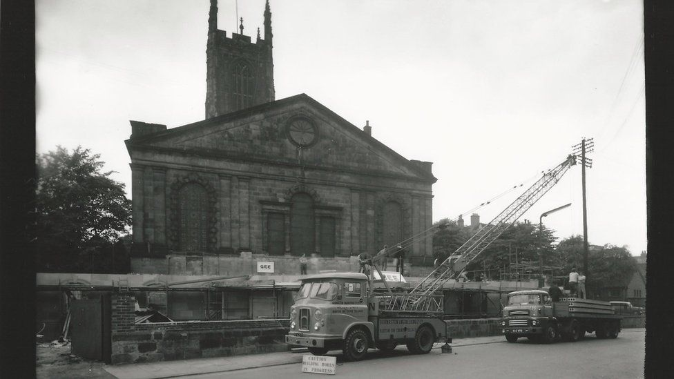 Building Derby Cathedral's extension