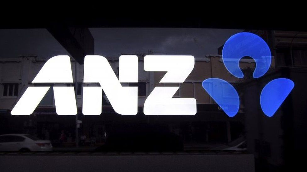 An ANZ logo