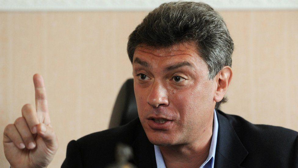 Boris Nemtsov in a file photo from 2009