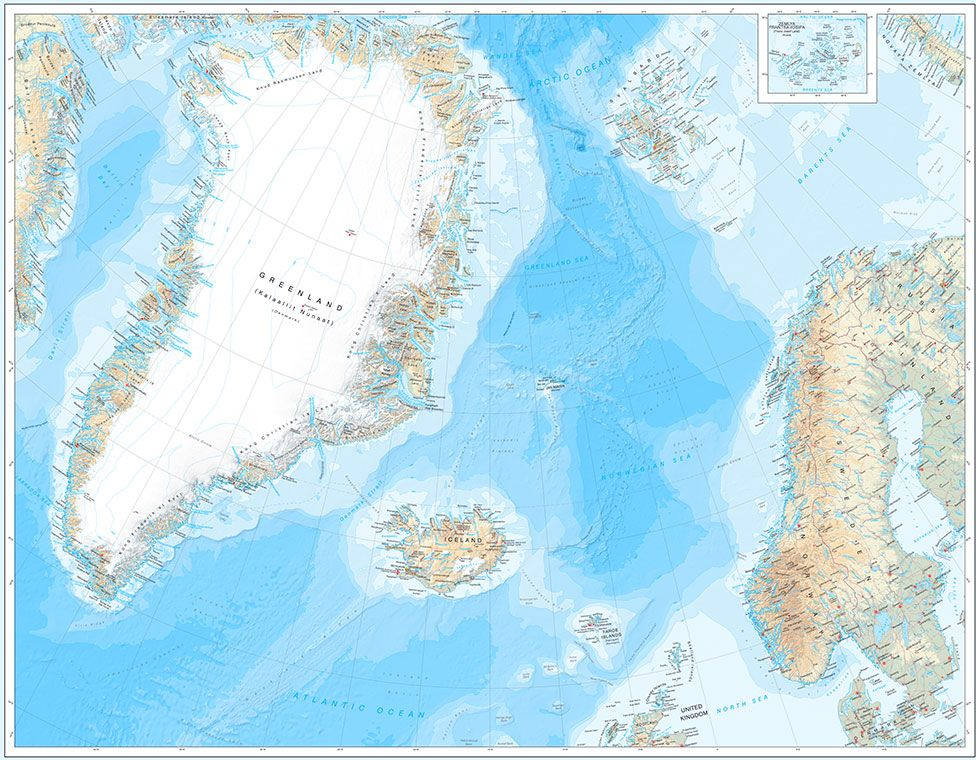 Greenland map captures changing Arctic in fine detail - BBC News