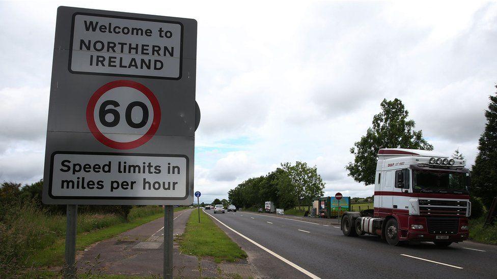 The Ireland-Northern Ireland border