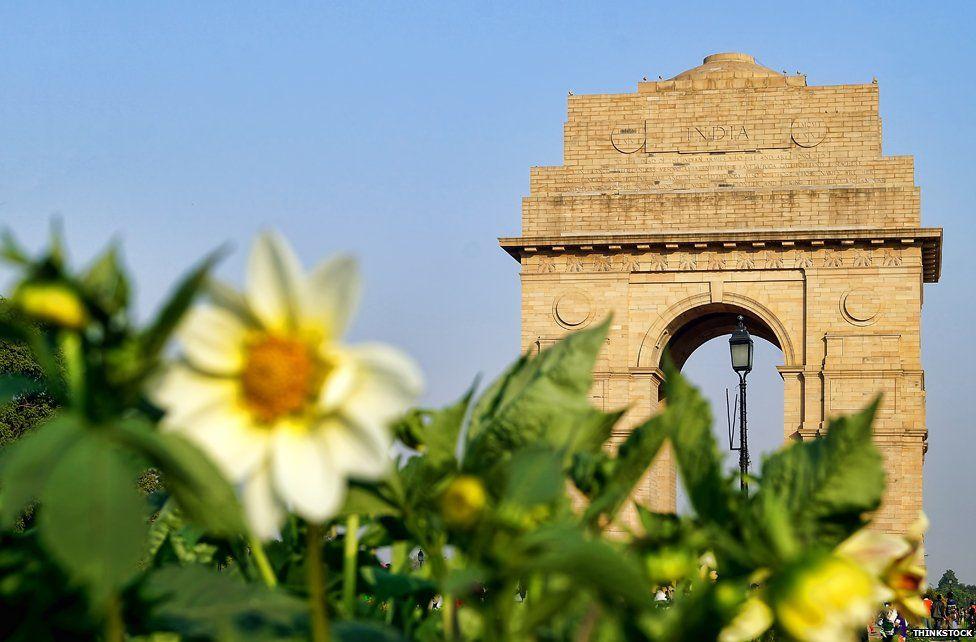 India Gate memorial to WW1 soldiers, Delhi