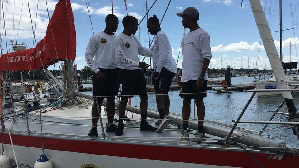 Boys on deck