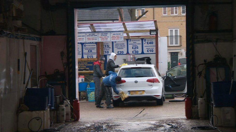 Car wash in Basildon