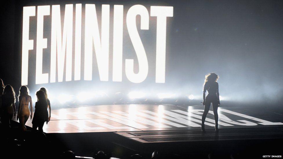 Beyonce at the MTV VMAs in 2014